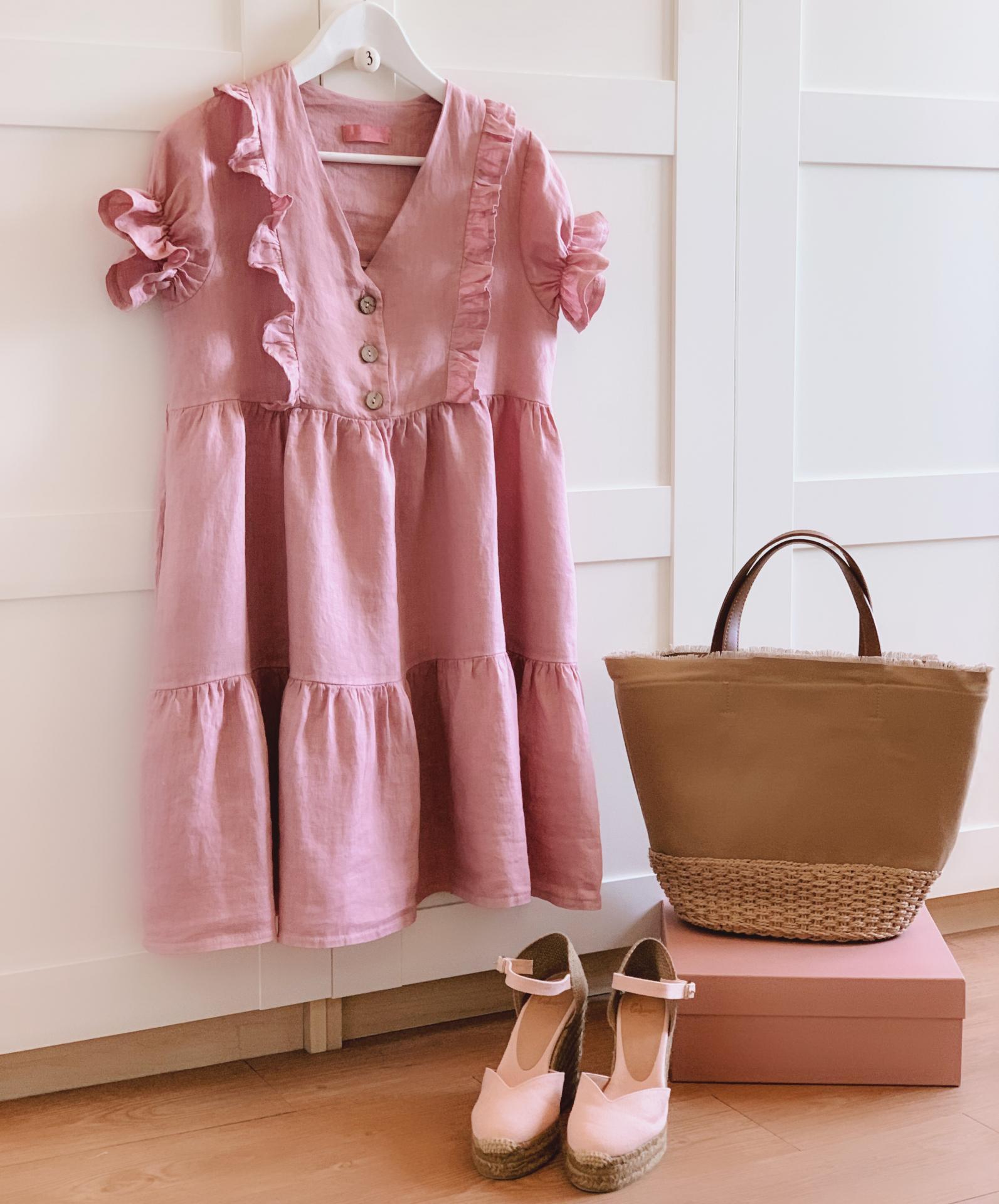 The Little Linen Dress (Ref.4048)