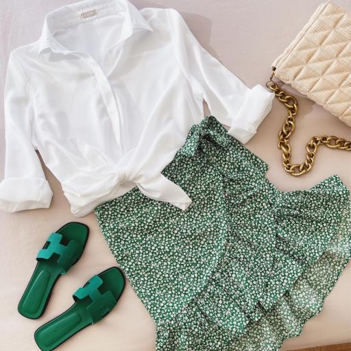 Falda Green Skirt (Ref. 5660)