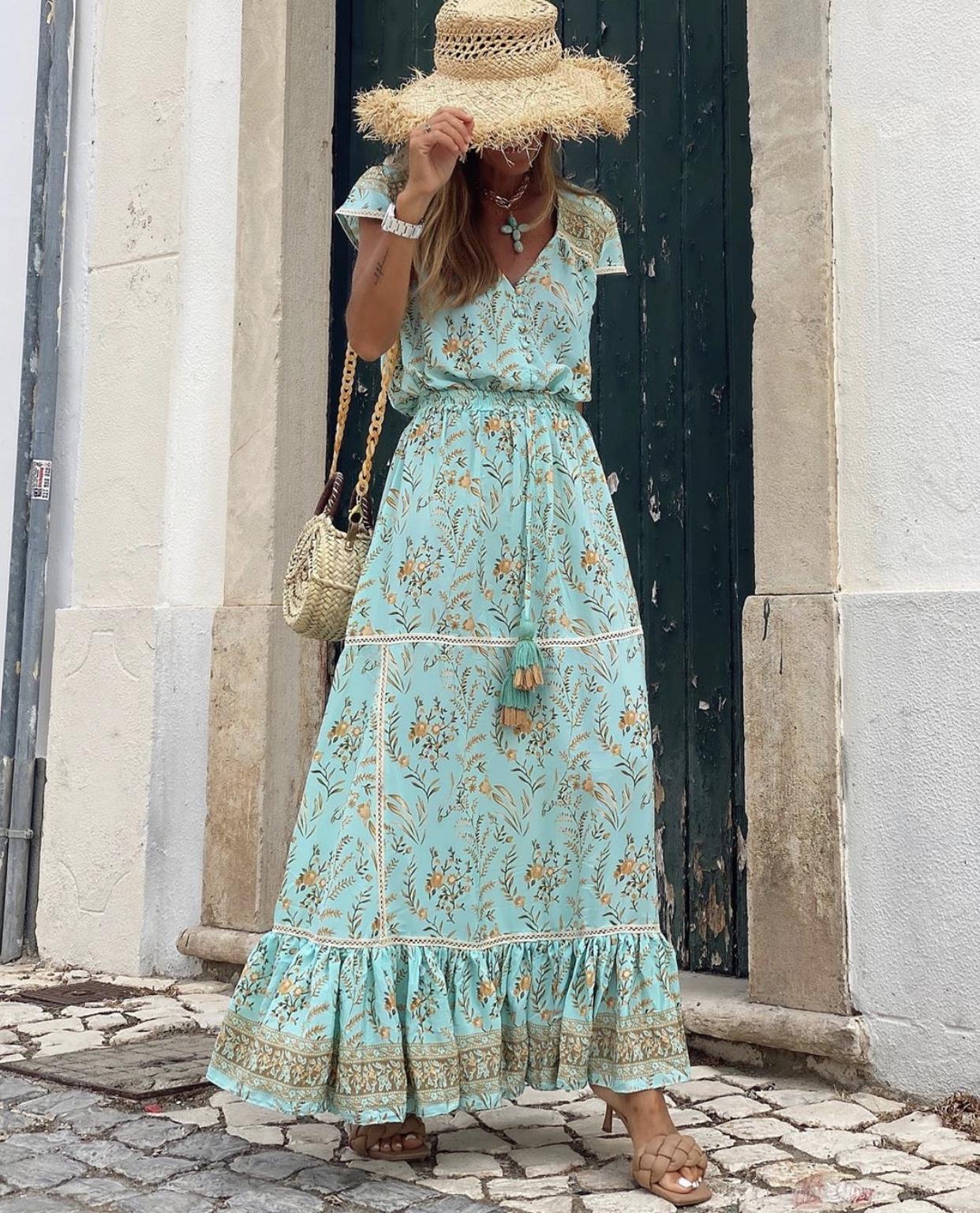 Vestido Turquoise (Ref.4108)