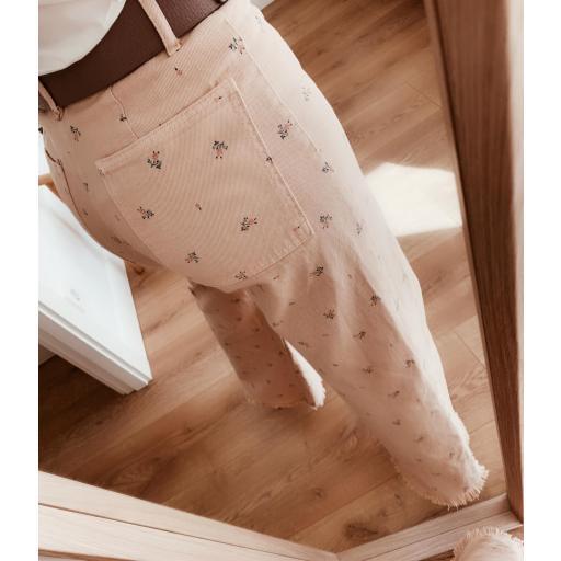 Pantalón Recto Liberty Chic (Ref.5426)