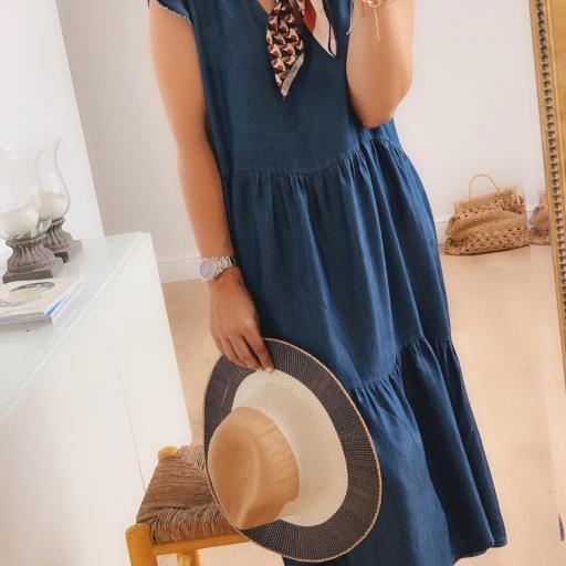Vestido Maxi Denim (Ref. 4125) [1]