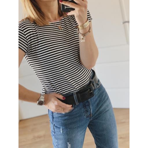 Camiseta Stripes & Glitter (Ref.3212) [2]