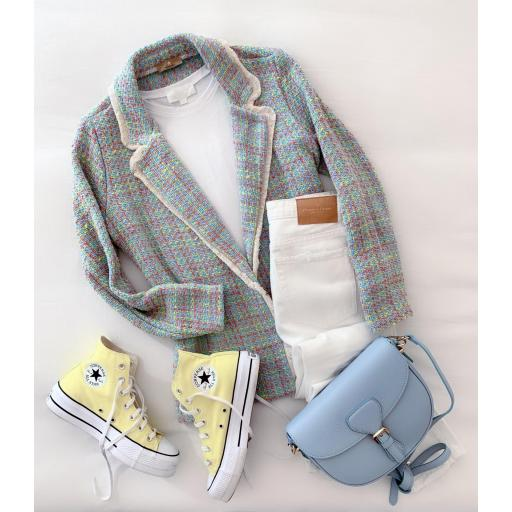 Blazer Yellow & Blue Tweed (Ref.5439)