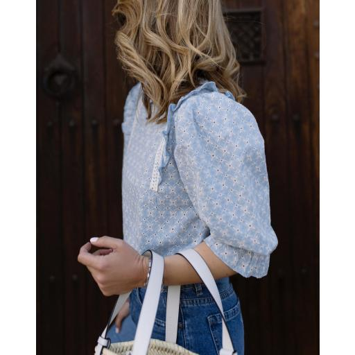 Blusa Provence in Blue (Ref. 5507) [2]