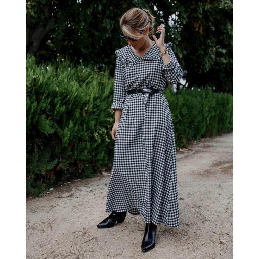Vestido Vichy Largo (Ref.4272) [0]