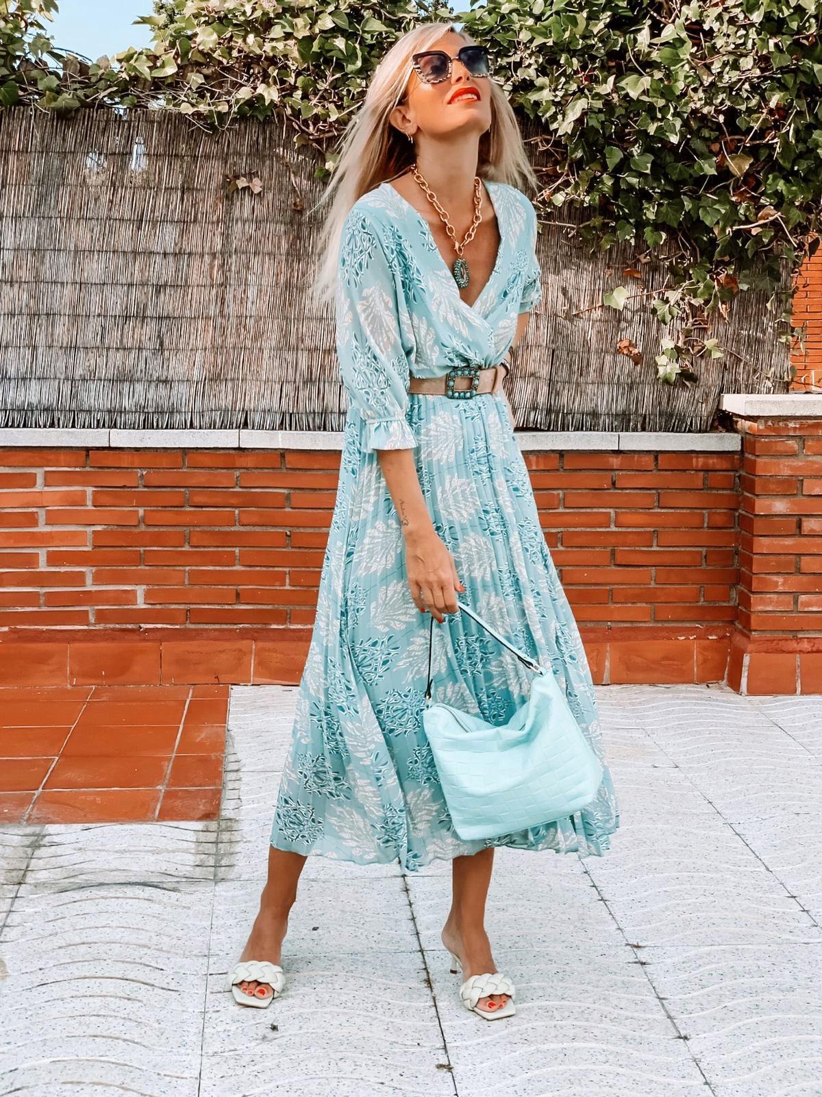 Vestido Plisado June (Ref.3306)