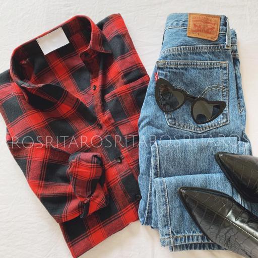 Camisa Cuadros Red & Black (Ref. 2909) [2]