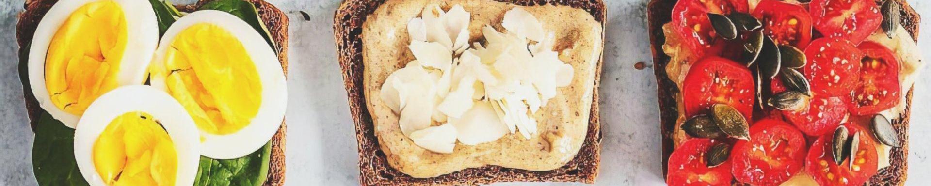 10 tostadas saludables para desayunar