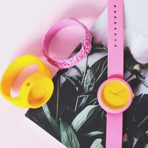 Reloj Fugit Rosa