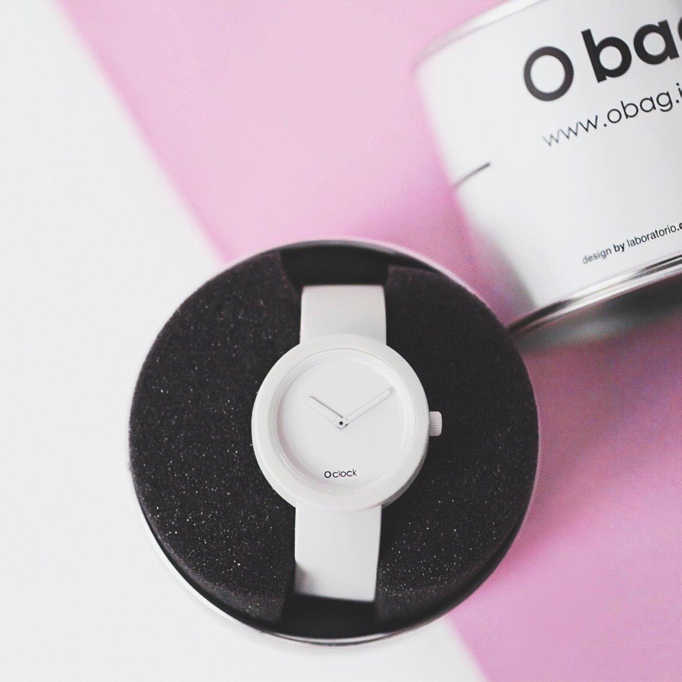 Reloj Fugit Blanco Edición Especial