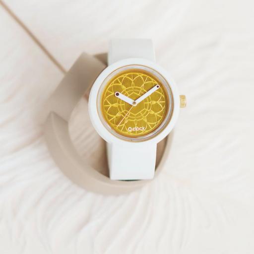 Reloj Fugit Blanco