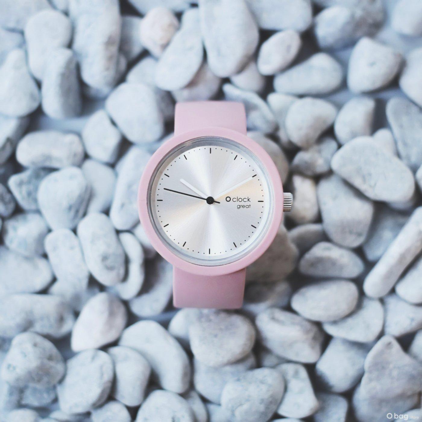 Reloj Fugit Rosa Palo