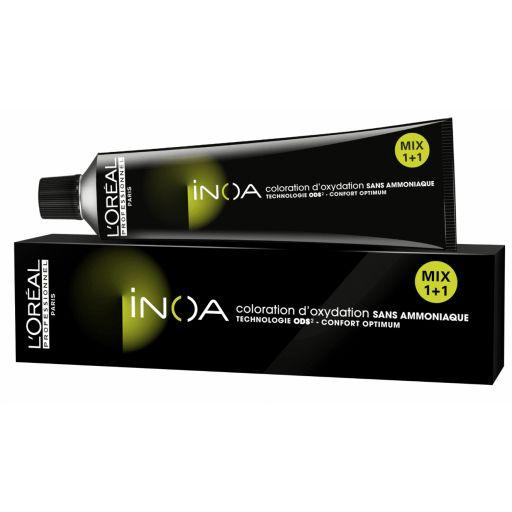 Tinte Inoa 6.35  Rubio Oscuro Dorado Caoba  (Incluye Oxidante) [1]