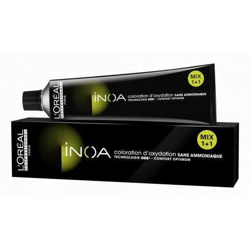 Tinte Inoa 6.45 Rubio Oscuro Cobrizo Caoba (Incluye Oxidante) [1]
