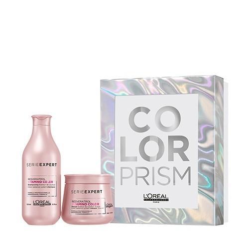 Pack L'Oréal Serie Expert Color Prism Champú+Mascarilla