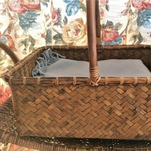 Cesta de Ratán y Bambú Antique [1]