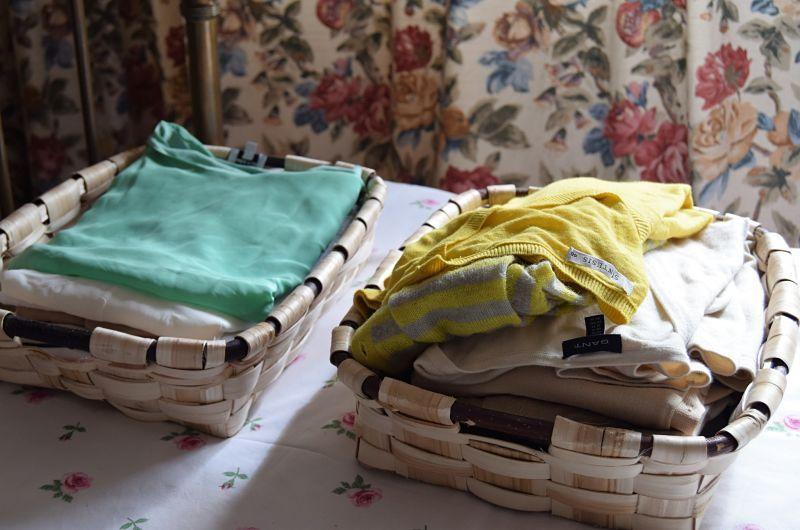 Bandejas de castaño