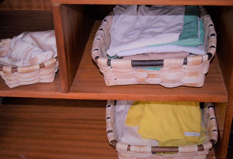 cestas de castaño
