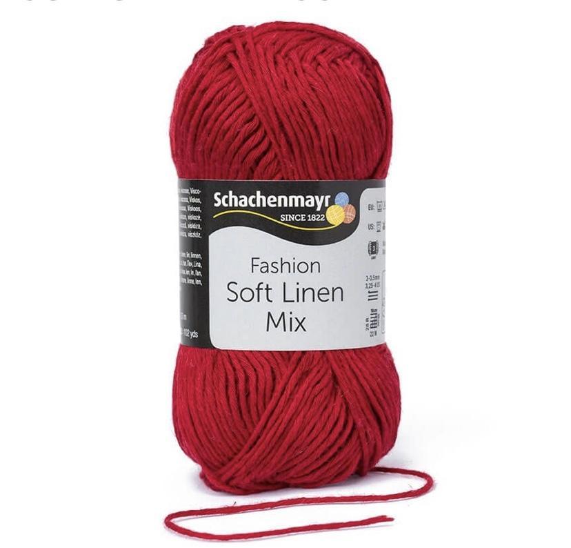 Soft Linen Mix 32 Burdeos