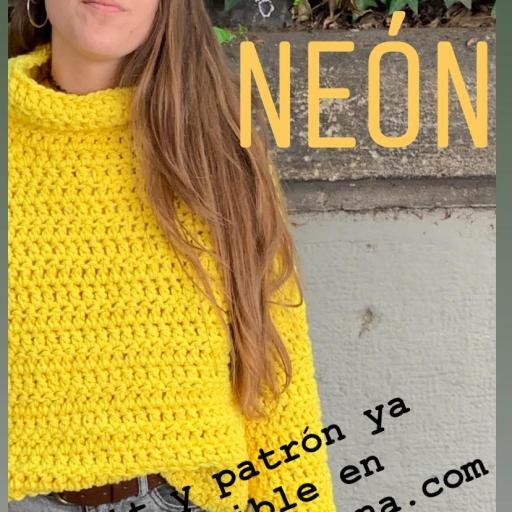Patron jersey Lemon Neon