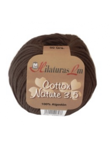 COTTON NATURE 3,5 4102 Marron