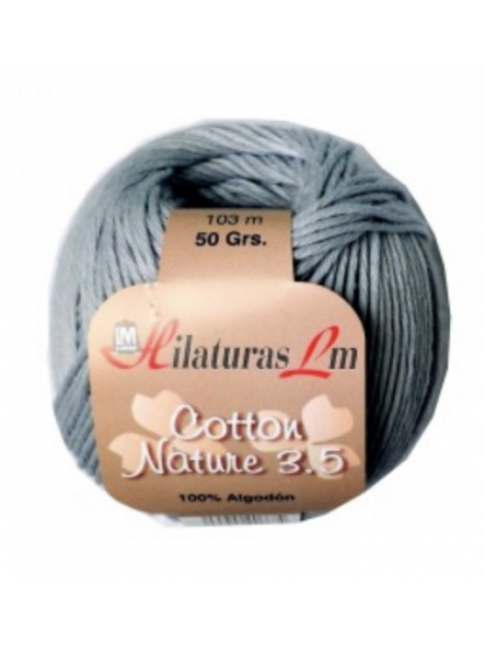 COTTON NATURE 3,5 4112 gris m
