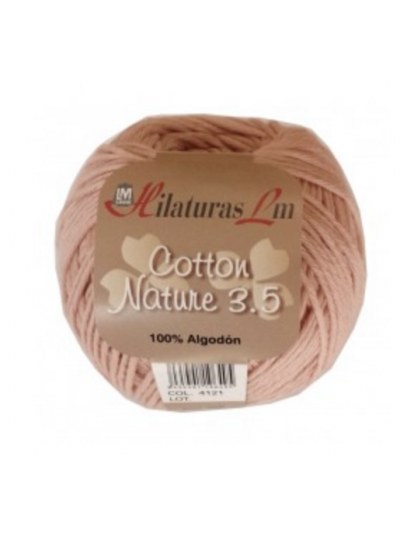 COTTON NATURE 3,5 4121 Piel