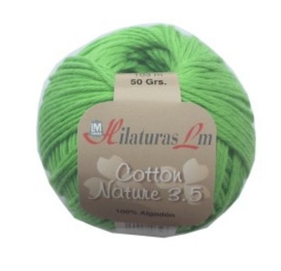 COTTON NATURE 3,5 4094 Verde Cl