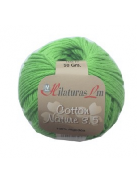 COTTON NATURE 3,5 4094 Verde Cl [0]