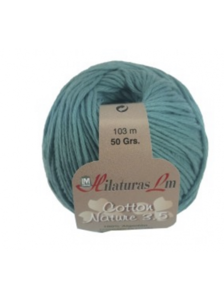 COTTON NATURE 3,5 4168 jade