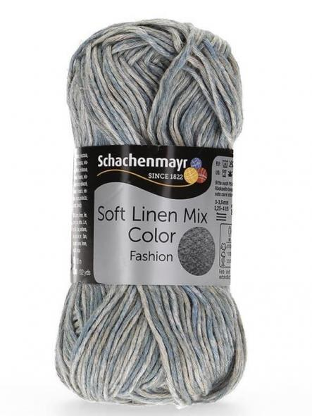 Soft Linen Mix color85 azul matizado
