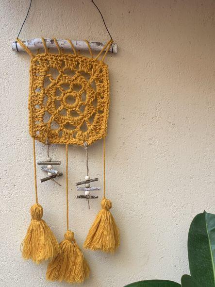 Soporte Para tapiz de madera 20 cm [2]