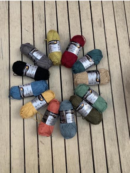 Soft Linen Mix 32 Burdeos [2]