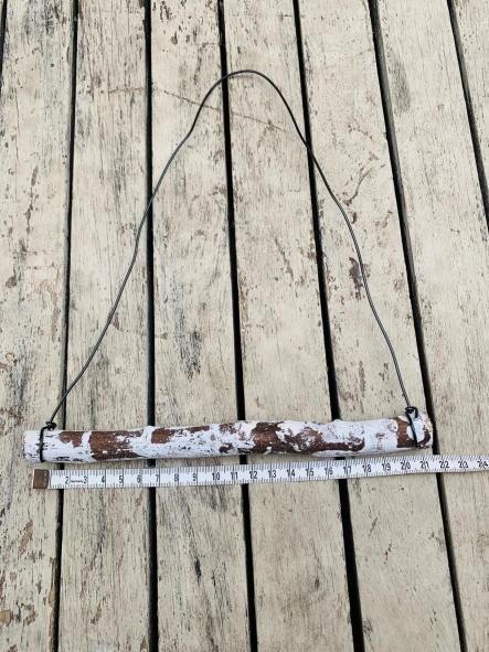 Soporte Para tapiz de madera 20 cm