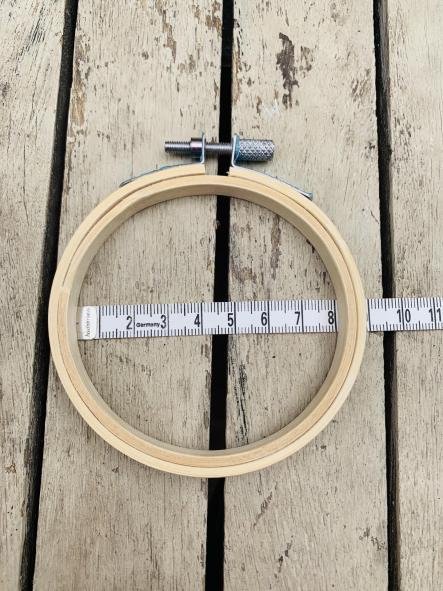 Bastidor de bordado de 8 a 30cm
