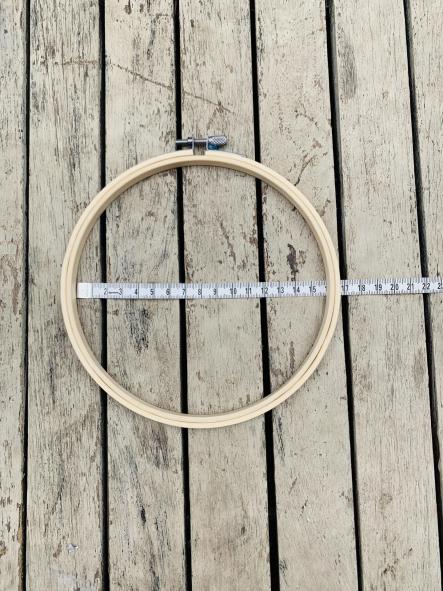 Bastidor de bordado de 8 a 30cm [1]