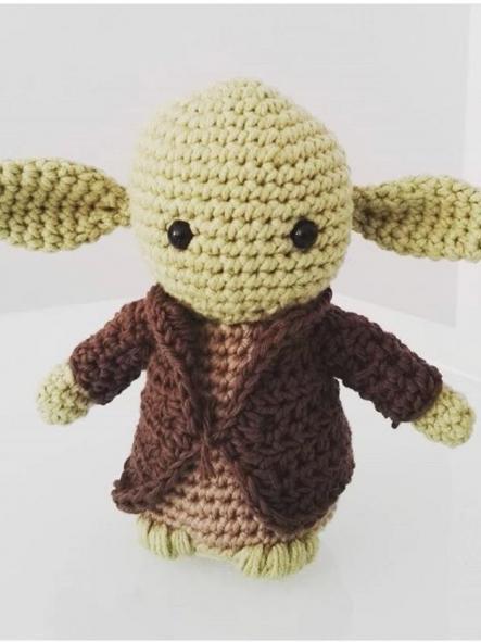 Kit Maestro Yoda amigurumi [1]