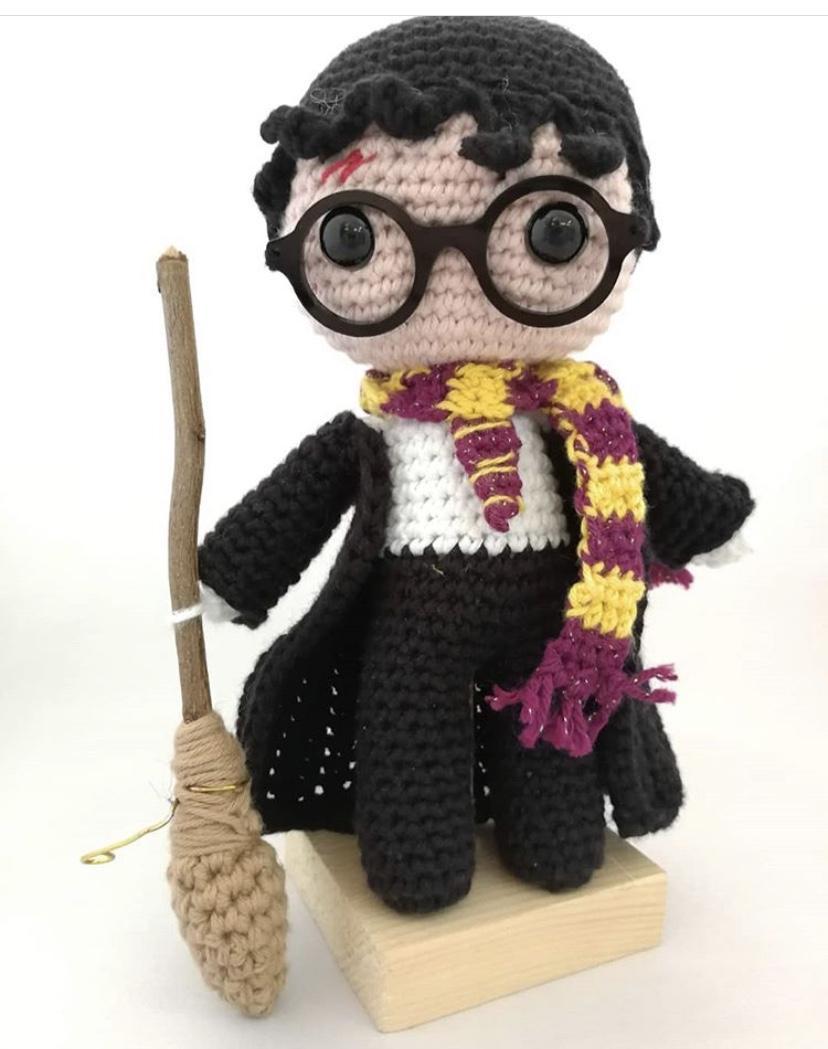 kit Harry Potter amigurumi