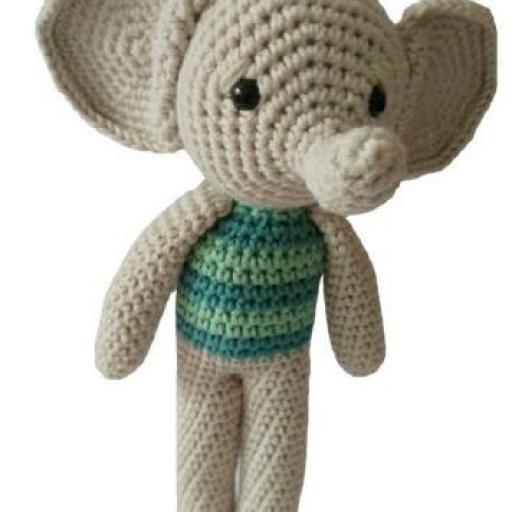 elefante amigurumi by filohmena [1]