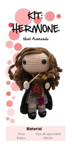 kit Hermione -Harry Potter