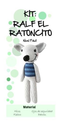 kit ralf - ratoncito