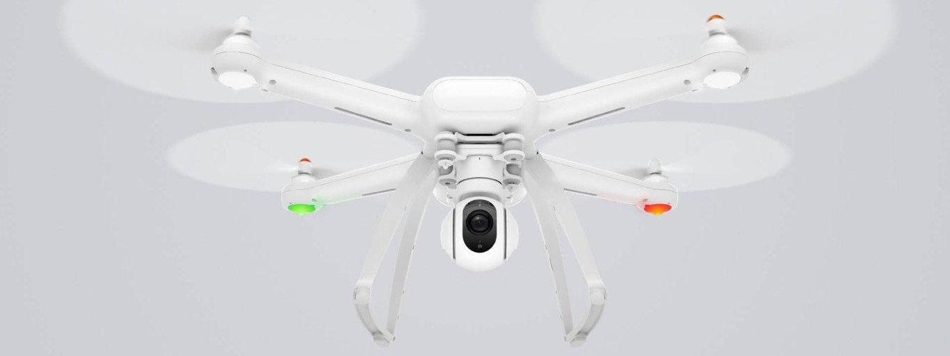 Xiaomi Mi Drone, un cuadricóptero desde 340 euros con el que grabar los vuelos en 4K