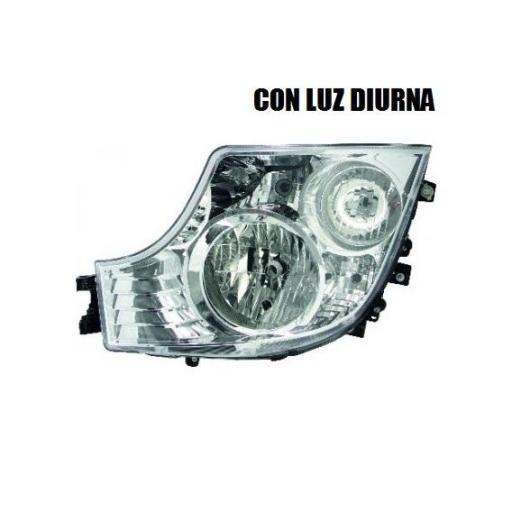 FARO PRINCIPAL IZQUIERDO CON LUZ DIURNA MERCEDES MP4