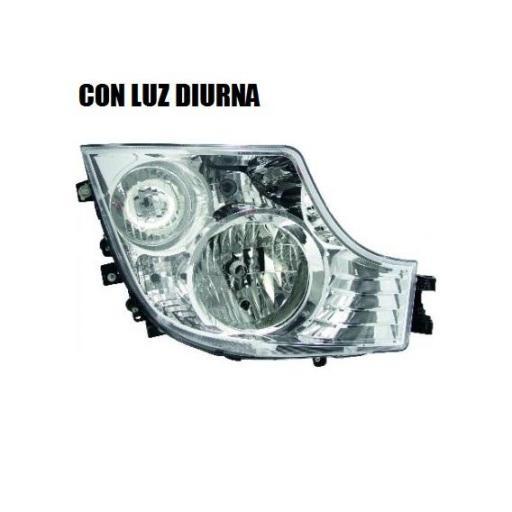 FARO PRINCIPAL DERECHO CON LUZ DIURNA MERCEDES MP4