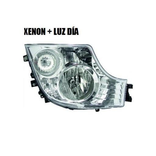 FARO PRINCIPAL XENON Y LUZ DE DÍA DERECHO MERCEDES MP4