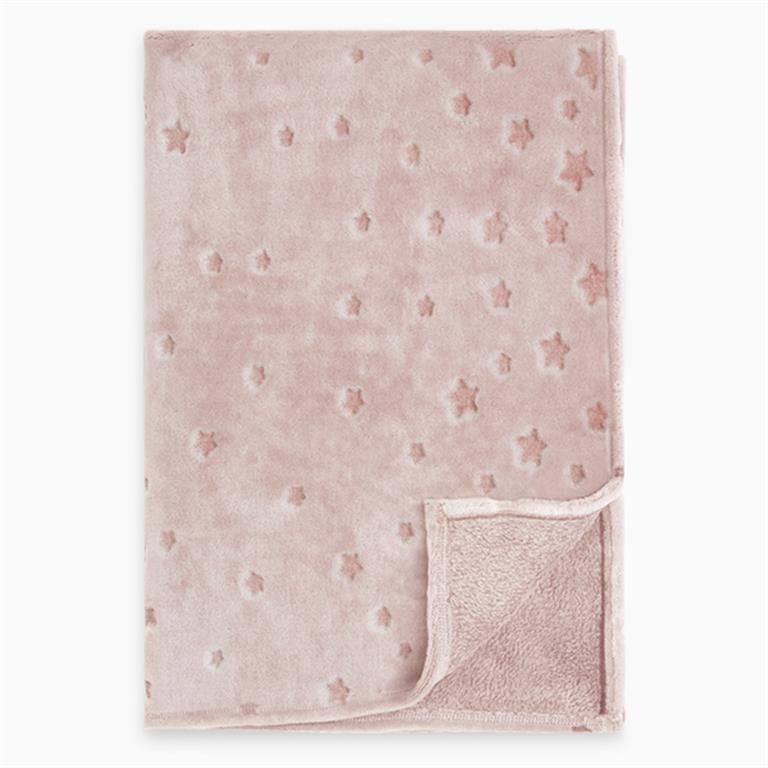 Manta polar weekend rosa