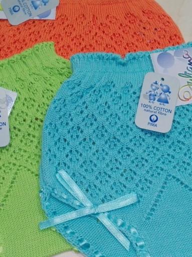 Braga calada bebé  colores  Juliana [2]