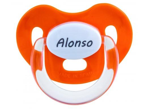 Chupete personalizado Naranja Boann 012