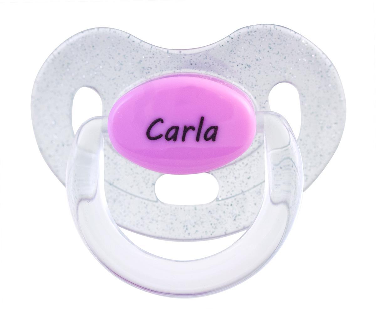 Chupete personalizado purpurina Rosa Boann 021