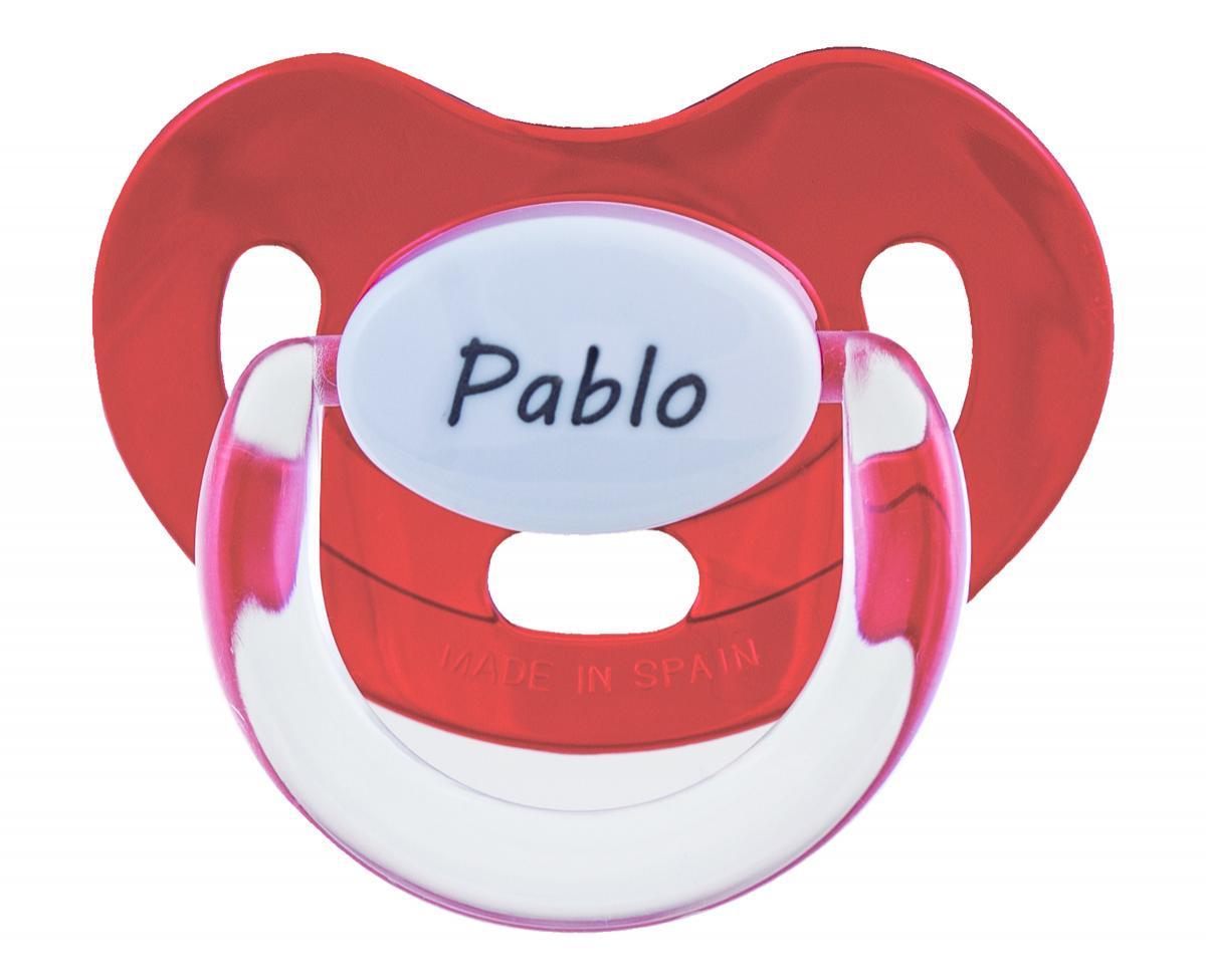 Chupete personalizado Rojo Boann 013